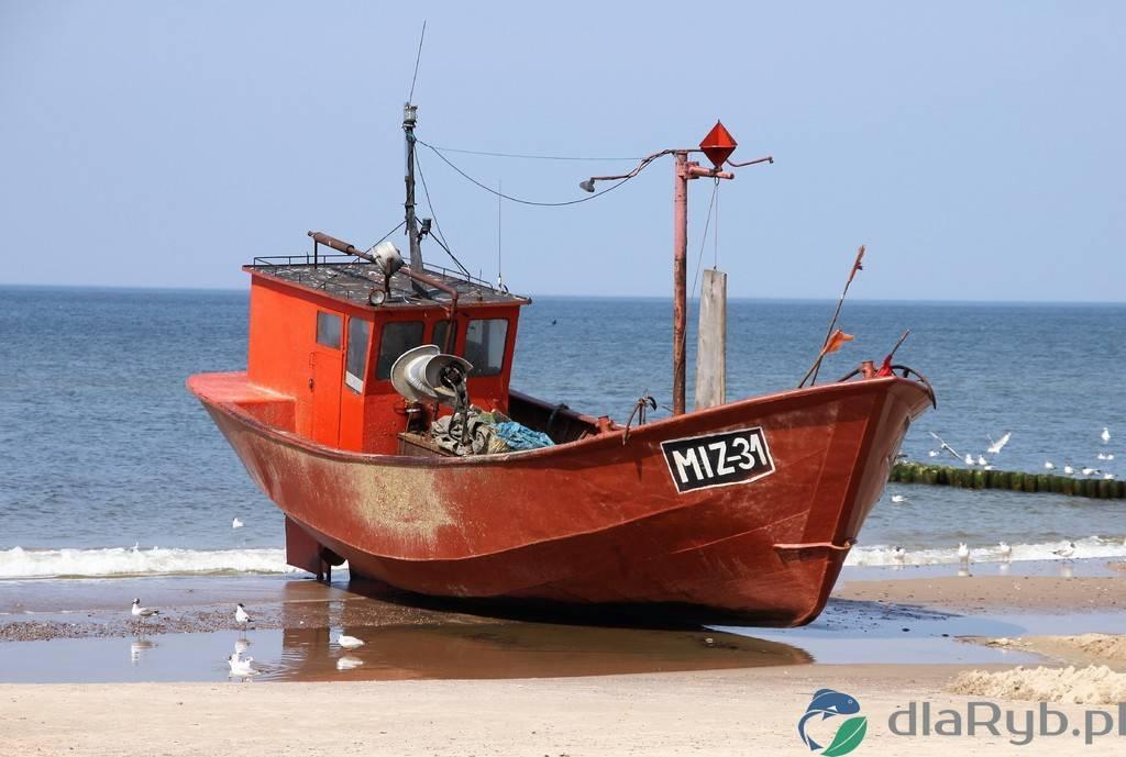 Kuter rybacki w Międzyzdrojach