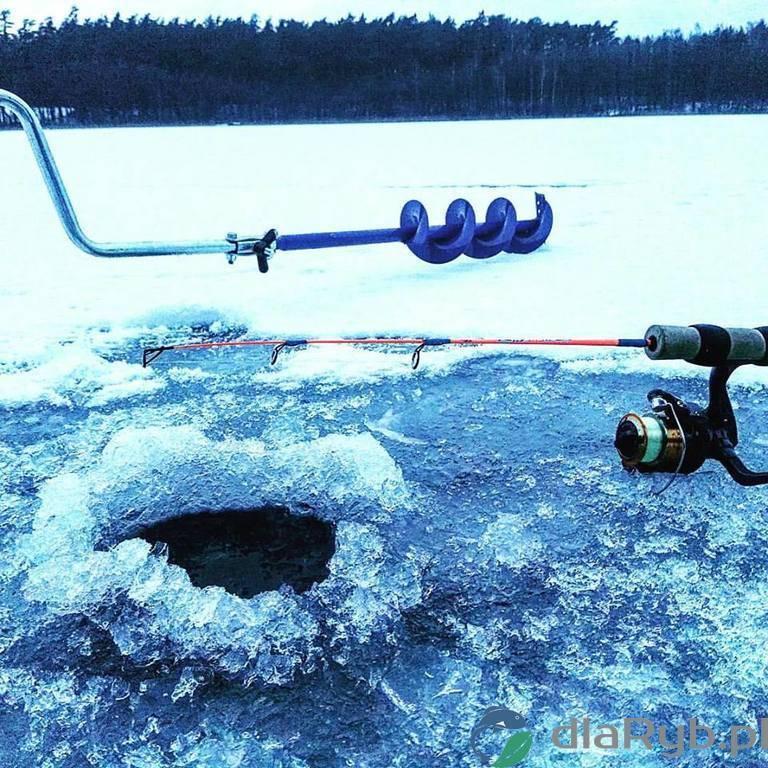 Jezioro Czarne w styczniu